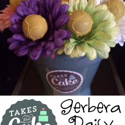 How to Make Gerbera Daisy Cake Pops