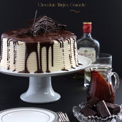 Triple Whiskey Cake