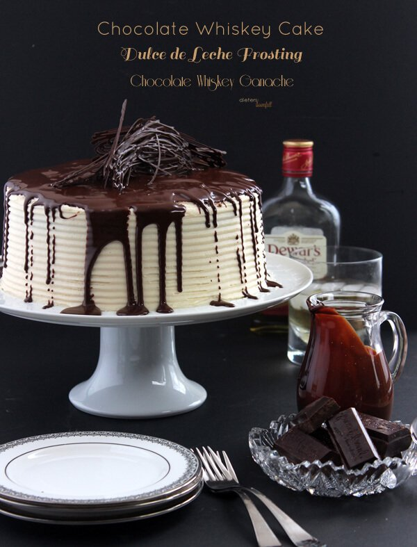 Triple Whiskey Cake - Pint Sized Baker