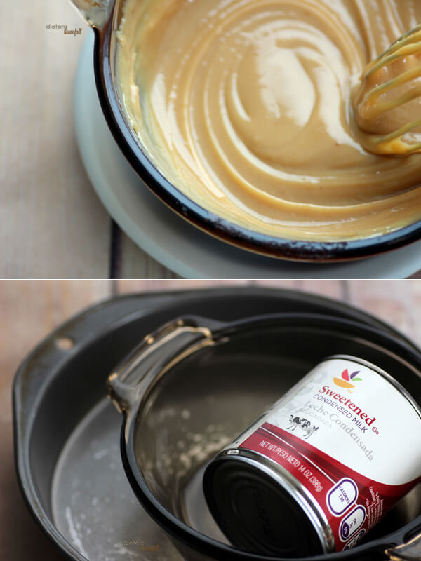 how to make caramel from condensed milk in the oven