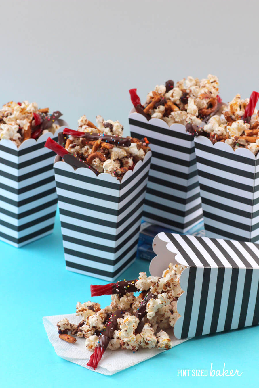 Grab the red whips and a movie - this popcorn has it ALL!