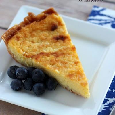 Buttermilk Custard Pie