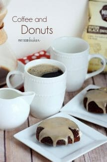 Cream Filled Chocolate Donuts with Glaze
