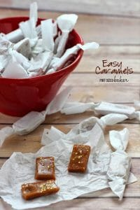 Easy Caramel Candies