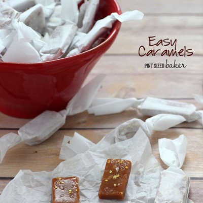 Easy Holiday Caramels