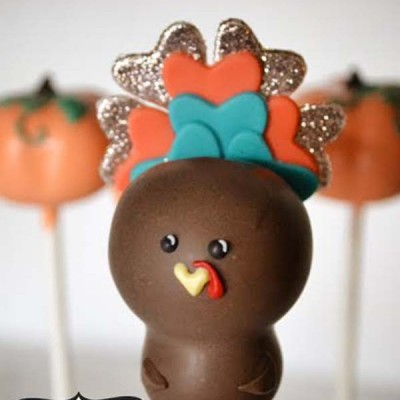 Turkey Cake Pop Tutorial from Cake Poppin'
