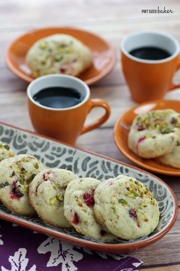Easy drop cookies are perfect for the holidays. These are also perfect for freezing.