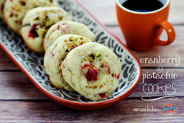 Cranberry Pistachio Sugar Cookies - perfect for my midday coffee break.