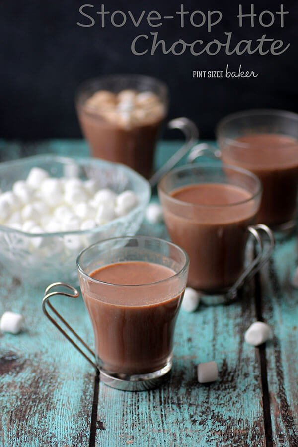 Image linked to a stove top hot chocolate recipe