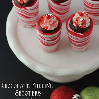 Chocolate Pudding Shooters