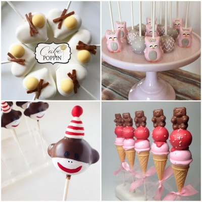 50 Cake Pop Collection for National Cake Pop Day 2015