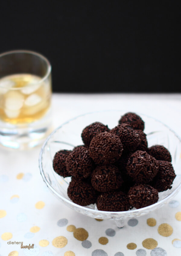 Easy to make Whisky Balls are just like Rum Balls, but so much better! Make 'em today.