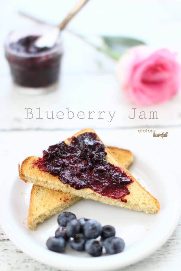 Make you own Homemade Blueberry Jam. You can control the amount of ...