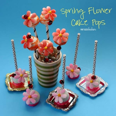 Easy Candy Flower Cake Pops