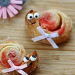 Puff Pastry Snail Cookies for Kids