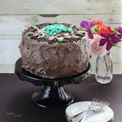 Mint Cheesecake Cake