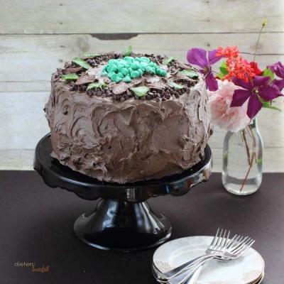 Mint Cheesecake Cake