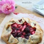 Craving a fresh fruit pie, but don't have the time to make one? Then this Rhubarb and Mixed Berry Galette is just what you've been looking for!