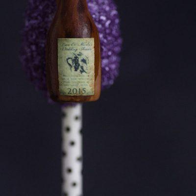Wine Bottle Cake Pops