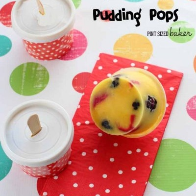 Fruity Pudding Pops