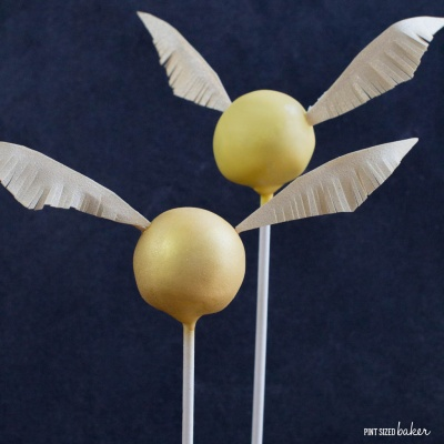 Golden Snitch Cake Pop Tutorial