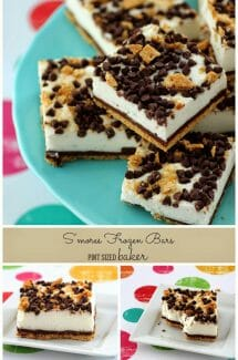 Frozen Coconut S'mores Bars