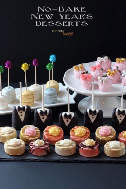 No-Bake New Year's Desserts