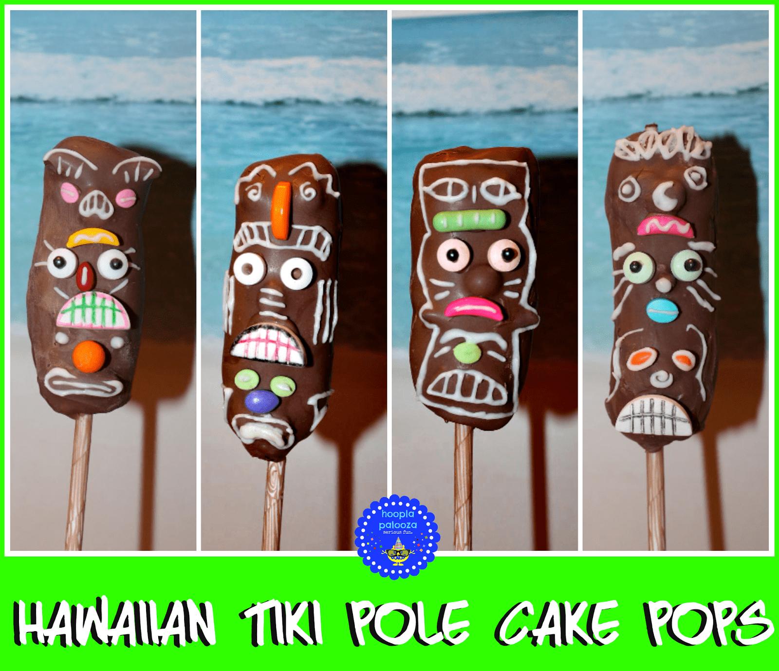 Tiki Cake Pops
