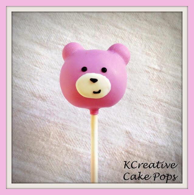 Bear Cake Pops by KCreative