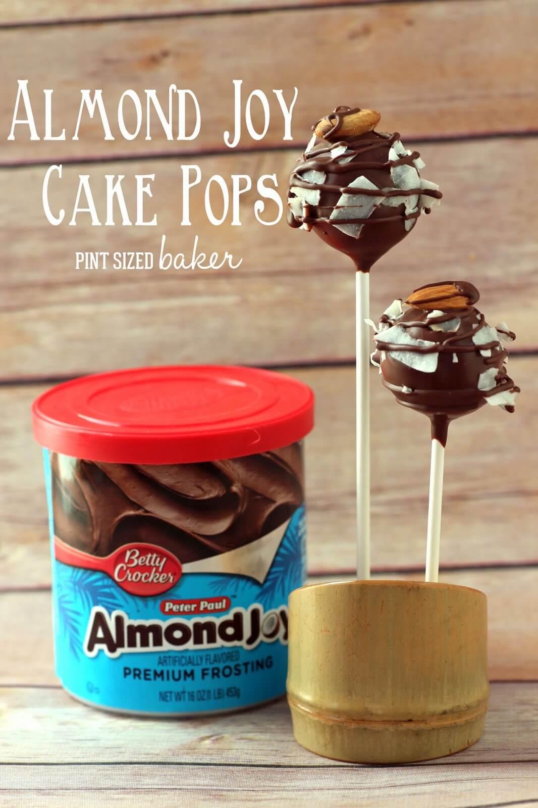 Almond Joy Cake Pops