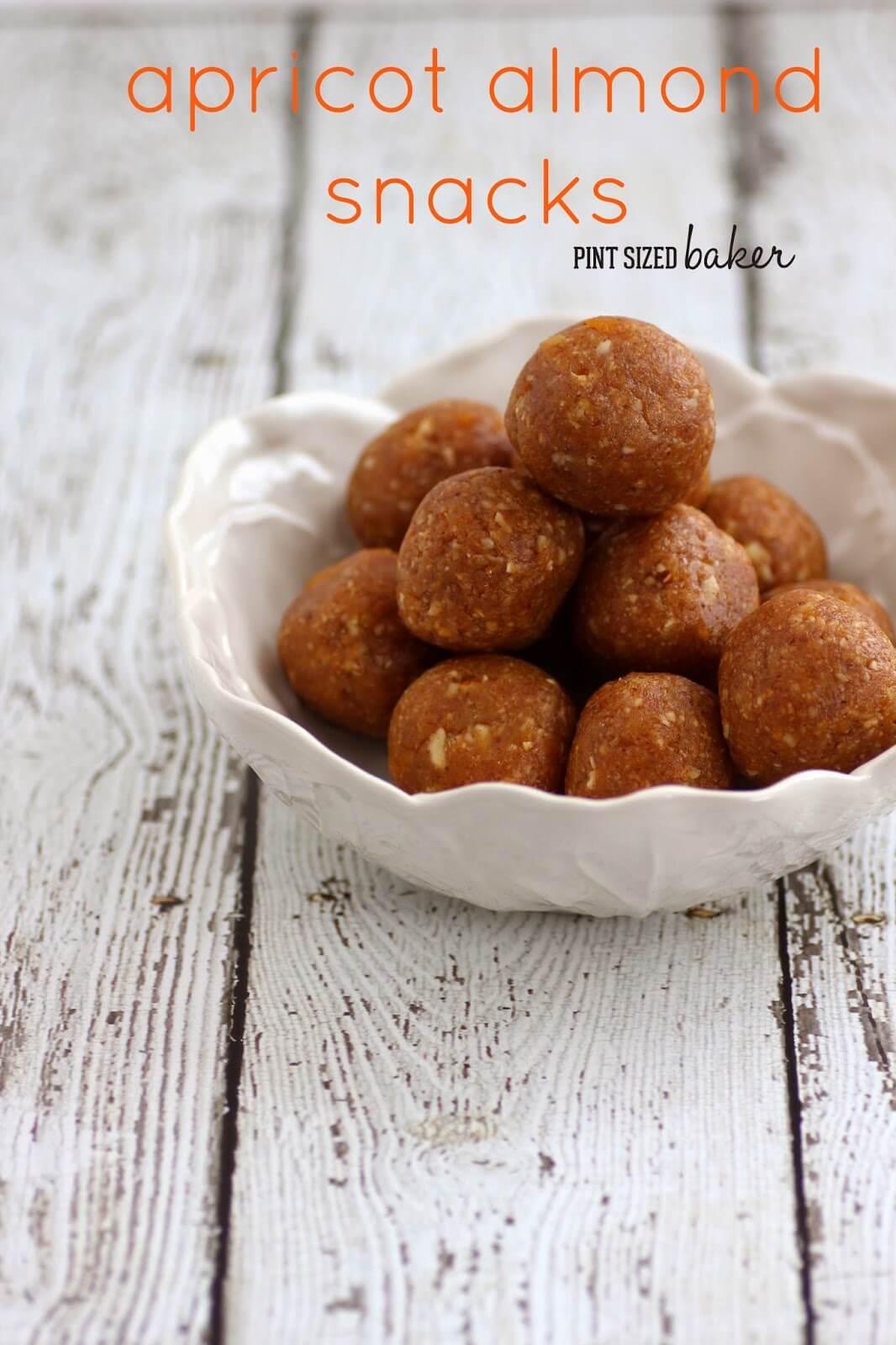 Apricot Almond Coconut Snacks