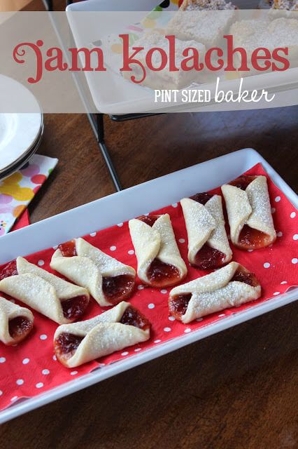Jam Kolaches for In Katrina's Kitchen - Pint Sized Baker