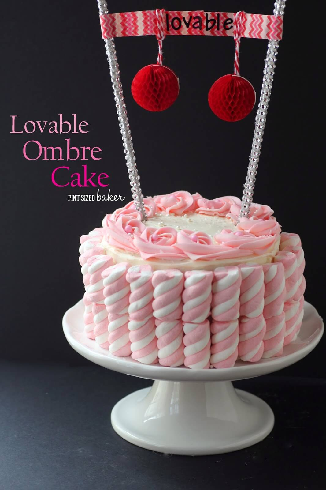 Lovable Ombre Cake