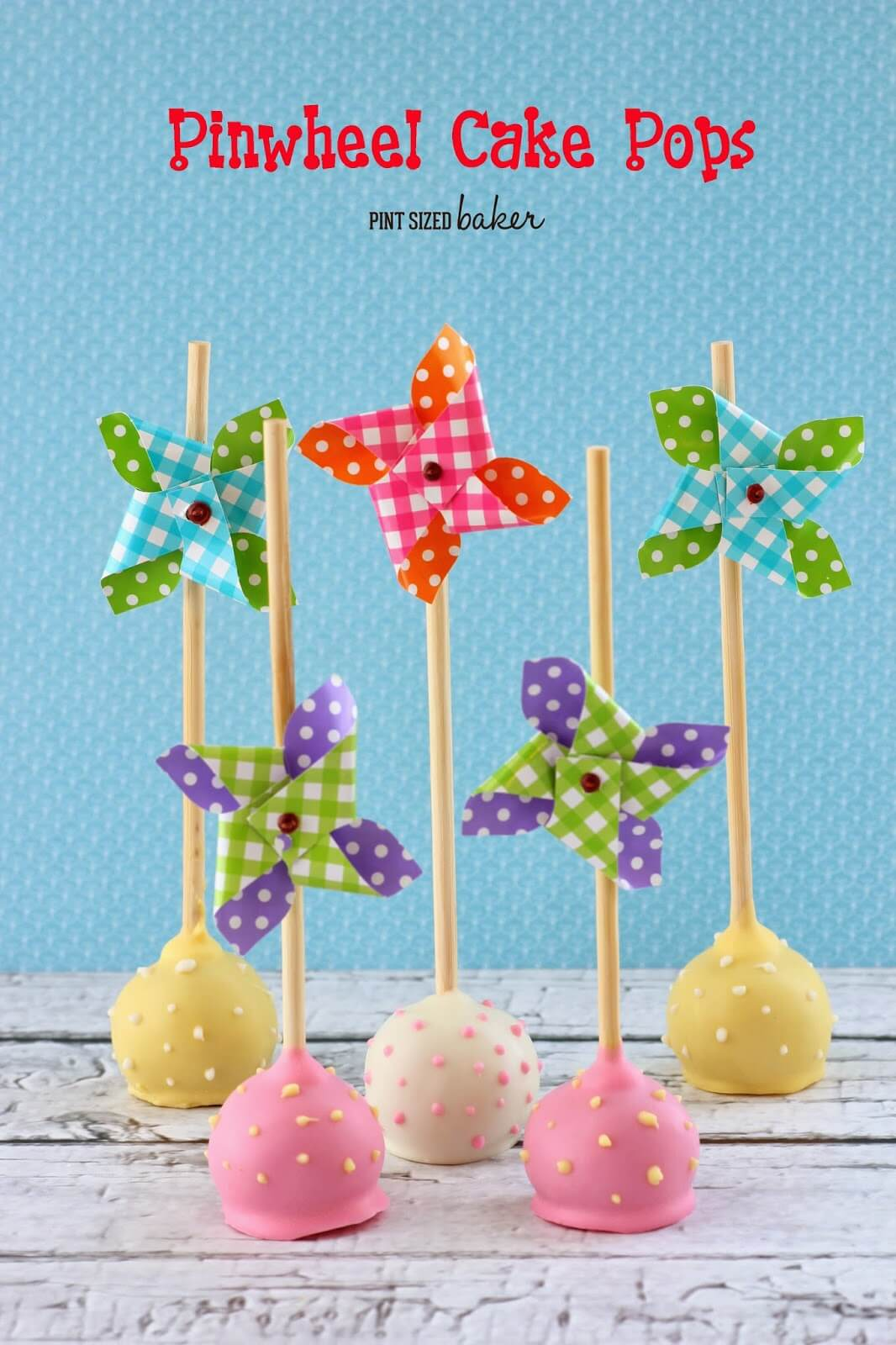 Pinwheel Cake Pops and a Giveaway