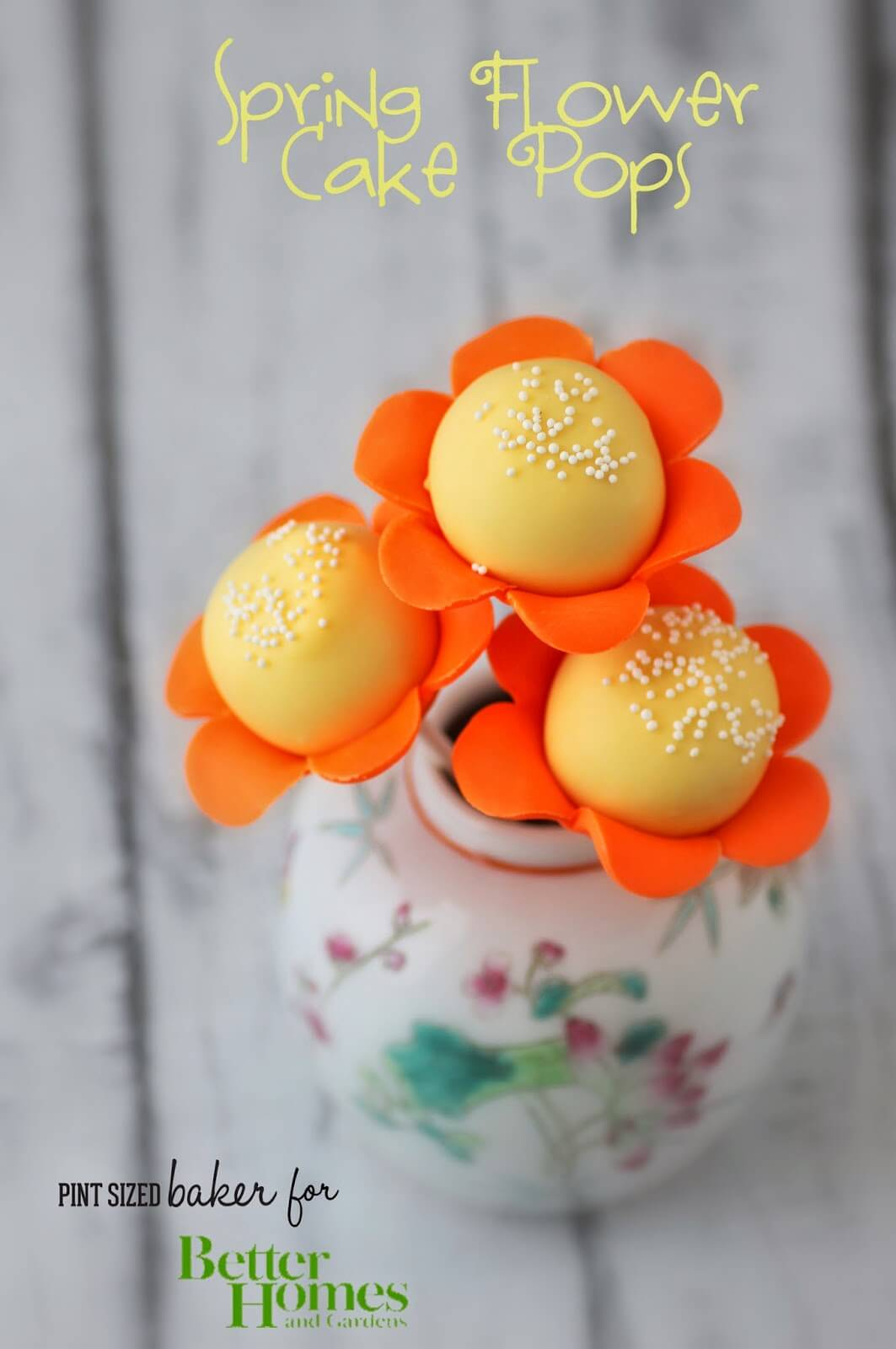 Flowers and Octopus Cake Pops