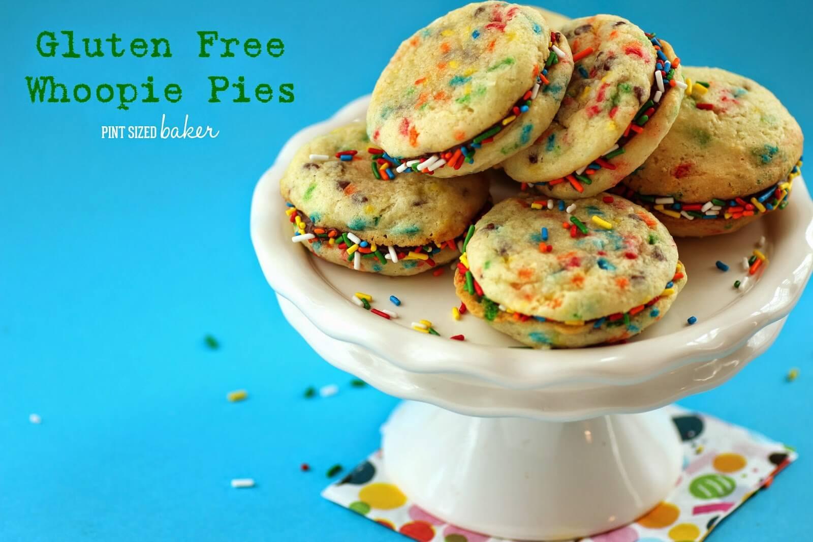 Gluten Free Funfetti Whoopie Pies