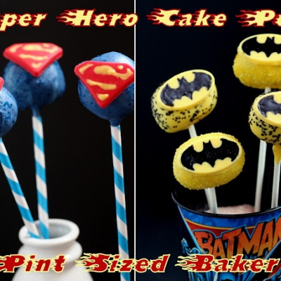 Super-Hero Cake Pop Molds