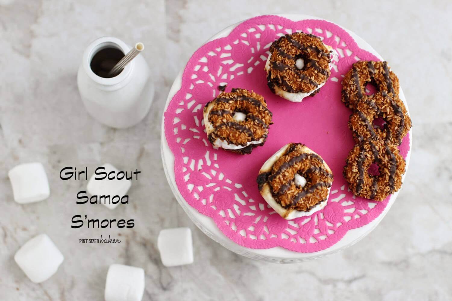 Girl Scout Samoa S'mores