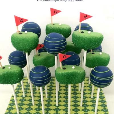 How to Make Golf Cake Pops