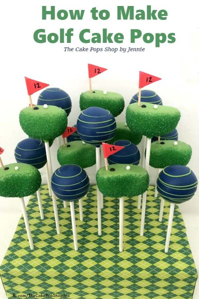 How to Make Golf Cake Pops