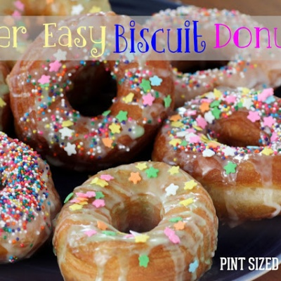 Super Easy Biscuit Donuts