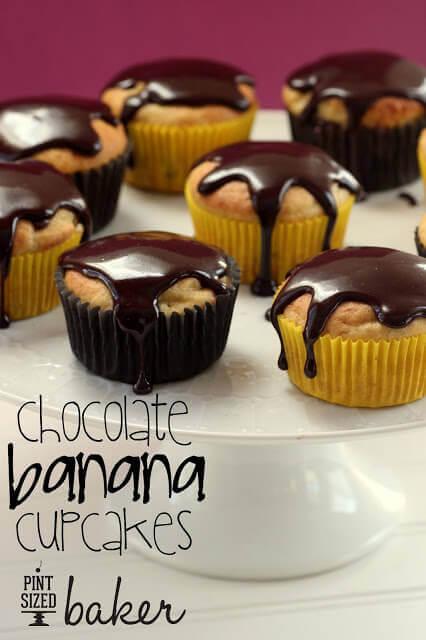 Fun Da Middles Chocolate Cupcakes