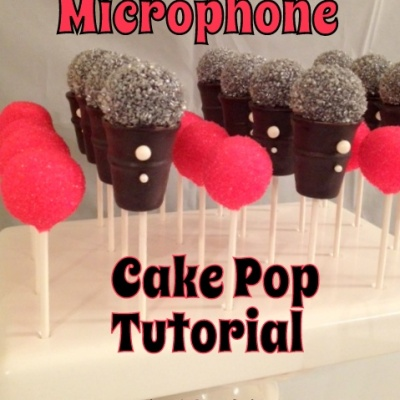 Microphone Cake Pop Tutorial – from iPopCakes