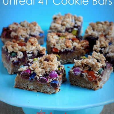 Unreal 41 Cookie Bars