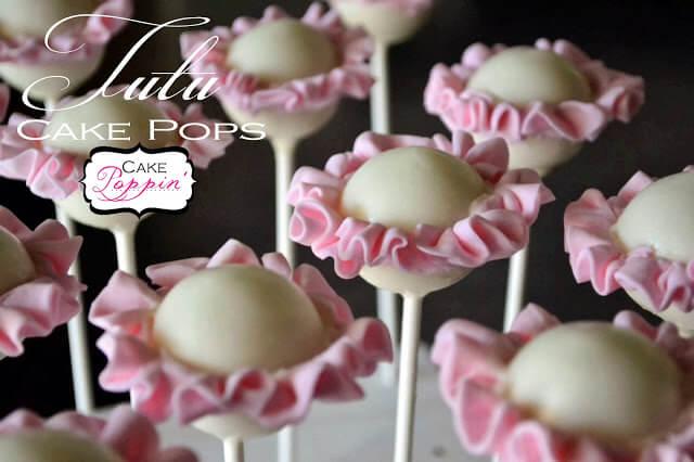 Ballerina Tutu Cake Pops from Cake Poppin
