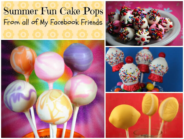 Summer Cake Pop Round-Up