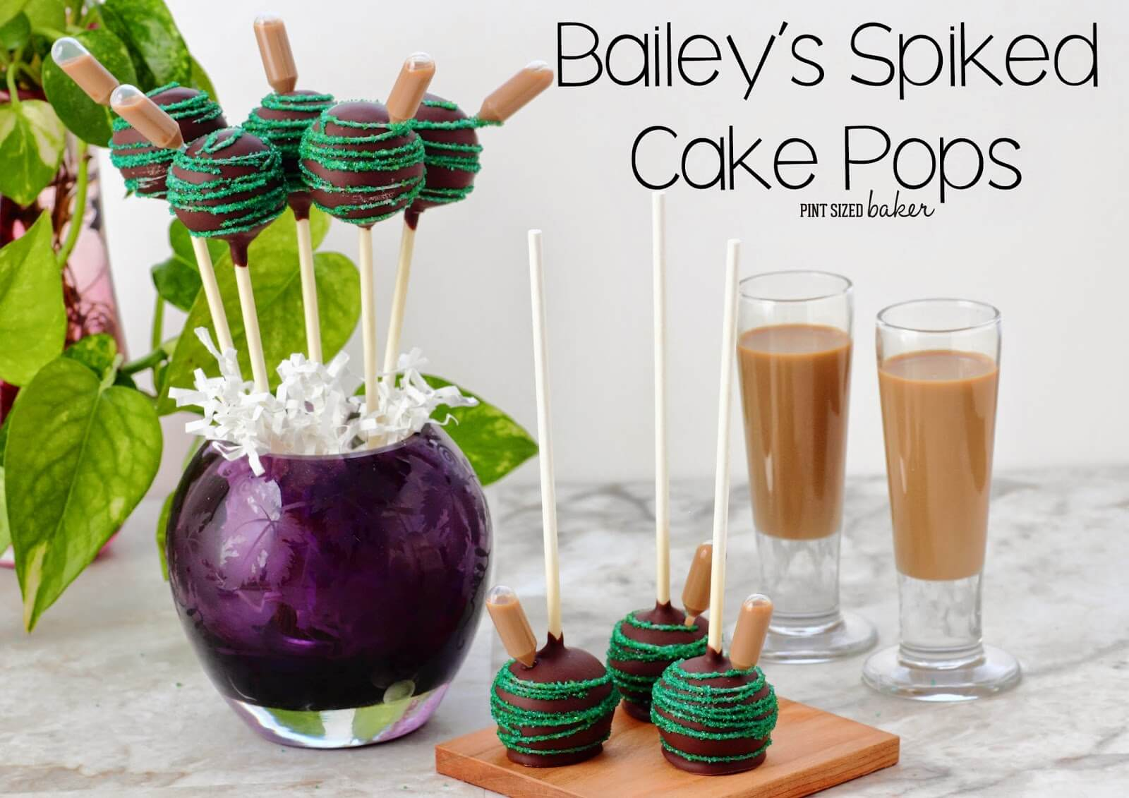 Bailey's Spiked Cake Pops