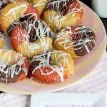 Neapolitan Cake Donuts