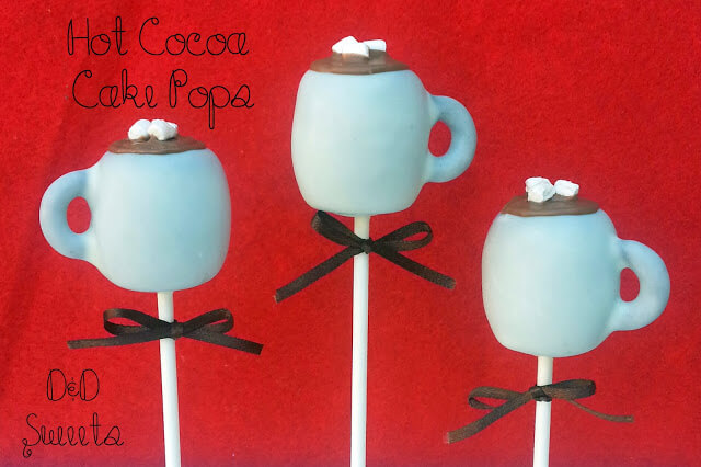 Hot Cocoa Cake Pops from D&D Sweets