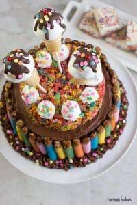 Enjoyable 40Th Birthday Cake 2 Pint Sized Baker Funny Birthday Cards Online Elaedamsfinfo